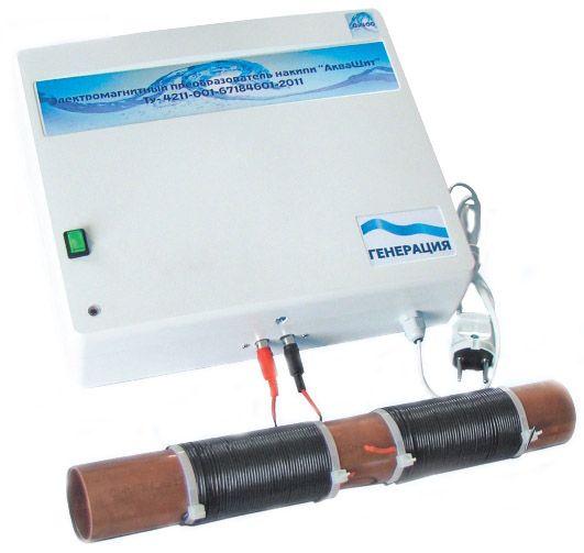 АкваЩит - Электромагнитный фильтр против накипи