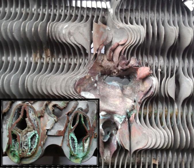 Очистка теплообменников от окислов железа достоинство спирального теплообменника